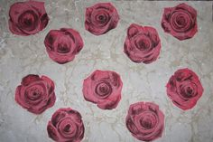 Roses of marbling By Songül Sönmez