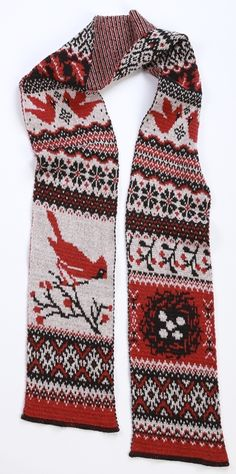 Cardinal Scarf - Recycled Cotton #madeintheusa www.green3apparel.com