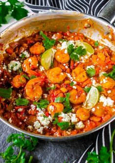 30 Low Carb Healthy Dinner Recipes For The Family - RecipeMagik Shrimp Recipes For Dinner, Low Carb Dinner Recipes, Side Recipes, Healthy Low Carb Dinners, Healthy Recipes, Keto Recipes, Greek Shrimp, Feta Cheese Recipes, Mozzarella Stuffed Meatballs