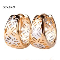 XIAGAO New Fashion Designer Womens Earring Vintage Stylish Hollow Hoop Earing for Ladies High Quality Jewellery Gift E403♦️ SMS - F A S H I O N 💢👉🏿 http://www.sms.hr/products/xiagao-new-fashion-designer-womens-earring-vintage-stylish-hollow-hoop-earing-for-ladies-high-quality-jewellery-gift-e403/ US $1.52