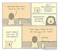 Benevolent Simba
