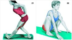 Full Body Stretching Exercises – 34 Best Stretching Exercises in Flexibility Routine Best Stretching Exercises, Muscle Stretches, Calf Stretches, Fitness Workouts, Fat Workout, Flexibility Routine, Flexibility Exercises, Latissimus Dorsi, Deep Squat