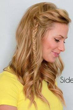 nice Upięcia #beauty #hairstyle #hair #braid