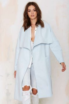 The Fifth City of Sound Oversized Coat