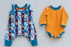 make it perfect: .Sewing for baby: Racoons and Clouds.