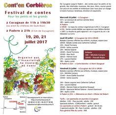 Le programme de la Fête du conte de Cucugnan les 19, 20 et 21 juillet 2017