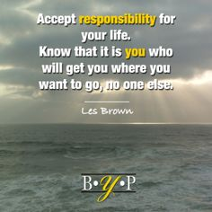 Responsibility - The Better YOU Project