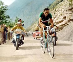 I have a strange curiosity about cycle racing. Especially the Tour de France.