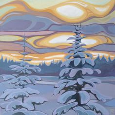 Erica Hawkes acrylic paintings proudly represented by The Lloyd Gallery, Penticton BC Learn Art, Landscape Art, Contemporary Landscape, Contemporary Artists, Tree Art, Artist Art, Art Photography, Landscape Photography, Painting Inspiration