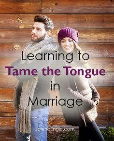 Every person I know struggles with using the tongue in such a way where it glorifies the Lord and edifies another person. Our natural inclination is to tear the other person down.  There is an art to learning how to tame our tongue- the wild beast that it is!  And one wife wrote in asking [...]