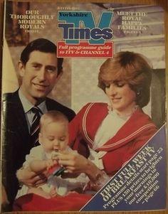 prince charles and princess diana with william at kensington palace | Princesses