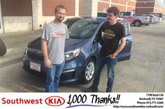 Great experience 5 out of 5 stars easy. I never felt lost any questions I had were easily answered.-Riverton Thibodeaux, Monday 9/5/2016 http://www.southwestkia-rockwall.com/?utm_source=Flickr&utm_medium=DMaxx&utm_campaign=DeliveryMaxx