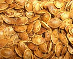 Roasted pumpkin seeds are easy to make and season to your family's liking.