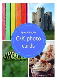 104 photo picture cards for teaching the k sound.