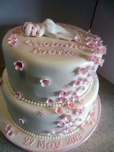 Caoimhe's Christening Cake