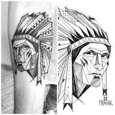 #miriamfrank #frank #tattoo #tätowierung #Munich #tattoomunich #Illustration #Indian