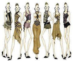 Fashion Designing For Beginners Draw Fashion Designs Beginners