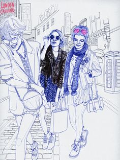 Elle Illustrator Silke Werzinger  www.auraphotoagency.com