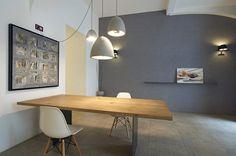 chociwski architekten » Tip Top Table Office Desk, Dining Table, Interior Design, Retail, Interiors, Furniture, Tops, Home Decor, Interior Designing