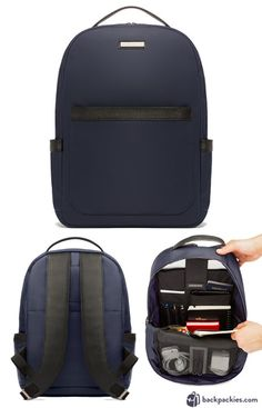 Archer Brighton Jake Utility backpack for men - Minimalist backpack for work - Full Review: https://backpackies.com/blog/10-best-backpacks-for-work-professional-and-stylish