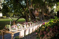 The Allure of the Outdoor Wedding - French Wedding Style Outdoor Wedding Reception, Outside Wedding, Wedding Venues, White Rose Bouquet, White Roses, Wedding Designs, Wedding Styles, Summer Wedding, Dream Wedding