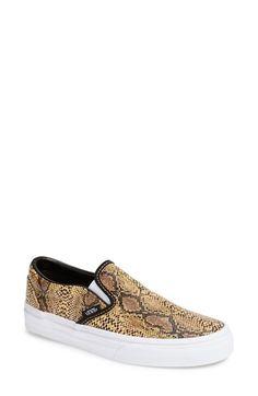 Vans 'Classic' Slip-On Sneaker (Women) - $55 on Vein - getvein.com