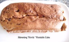 (Slimming World) Weetabix Cake - have to try this as just have no concept of what it might taste like