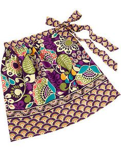 Vera Bradley Whats Cookin Apron in Plum Crazy from Vera Bradley | BHG.com Shop