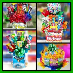 Theme Candy Gift Baskets