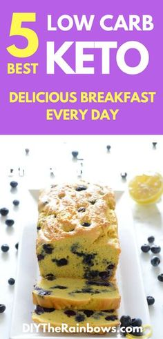 5 Best Low Carb Keto Bread Recipes for a Delicious Breakfast Every Day - DIY The Rainbows