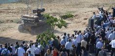 More robots on Israeli borders?