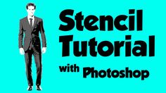 Graffiti Stencil Tutorial with Photoshop