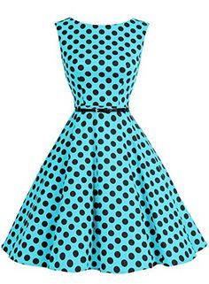 9ee513364 Bbonlinedress 1950s Retro Vintage Swing Rockabilly Floral Party Cocktail  Dress at Amazon Women's Clothing store: