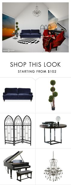 """neogothic music kingdom"" by irina-demydovych ❤ liked on Polyvore featuring interior, interiors, interior design, home, home decor, interior decorating and Luxe Collection"
