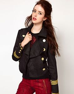 Vivienne Westwood Anglomania For Lee Military Jacket $370