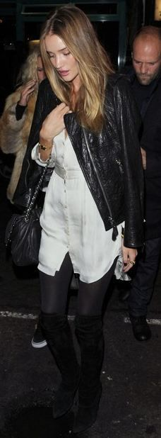 Dress - Theyskens' Theory Purse - Chanel Jacket - Isabel Marant