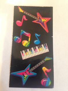 Rare Vintage Lisa Frank Sticker keyboard by RetroVintageStickers, $3.00