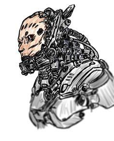 Strogg 2 .0 by AzrailLion