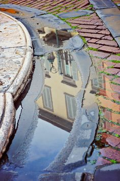Bergamo reflections, Italy.