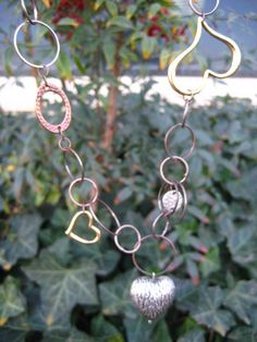 Heart Jewelry Metal Hearts Necklace