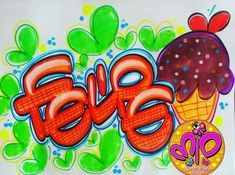 Hand Lettering, Alphabet, Neon Signs, Writing, Cool Stuff, Gifts, Ideas, Frases, Love Posters