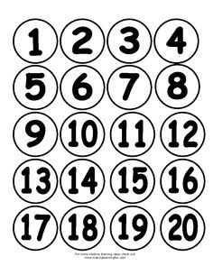1-20 Tracing Worksheets, Preschool Worksheets, Free Alphabet Printables, Homework Club, Montessori Math, Painted Letters, Literacy Centers, Nursery Rhymes, Kindergarten