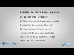Un designer néerlandais crée une police de caractères pour dyslexiques - rts.ch - info - sciences-tech. - repérages web