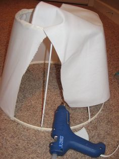 Covering a Lampshade - Southern Hospitality