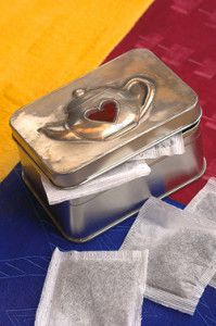 Creative Company | Easy Pewter Projects: Tea tin Creative Company, Tea Tins, Pewter, Craft Projects, Day, Gifts, Tin Metal, Presents, Tin