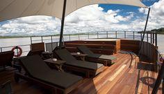 M/V Aria - Amazon River Cruises; Aqua Expeditons; Jordi Puig, Architect & Interior Designer