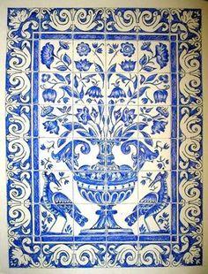 paineis de azulejos portugueses - Pesquisa Google