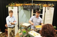 Draper's Catering at the Memphis Pink Bridal Show, Summer 2014 | The Pink Bride www.thepinkbride.com