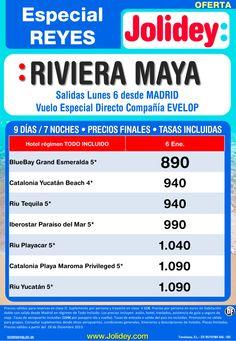 Especial Reyes a Riviera Maya desde 890 €. Salida 6 Enero. ultimo minuto - http://zocotours.com/especial-reyes-a-riviera-maya-desde-890-e-salida-6-enero-ultimo-minuto/