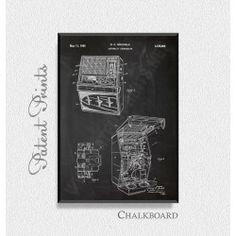 Automatic Jukebox 1965 Patent Print